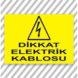 Supersticx UYK302 Uyarı ve İkaz Sticker - 30x40 cm