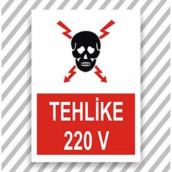 Supersticx UYK340 Uyarı ve İkaz Sticker - 30x40 cm