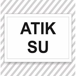 Supersticx UYK580 Uyarı ve İkaz Sticker - 30x40 cm