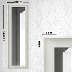 Modacanvas ÇVM2 Çerçeveli Boy Aynası - 120x50 cm