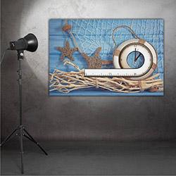 Moda Canvas MT49 Tablo Saat - 60x40 cm