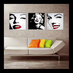 Moda Canvas Combin LXS4 Tablo - 30x30 cm