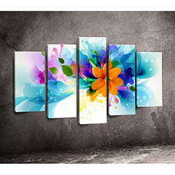 Moda Canvas 5PX151 Tablo - 5 Parçalı