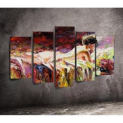 Moda Canvas 5PX205 Tablo - 5 Parçalı