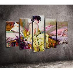 Moda Canvas 5PX215 Tablo - 5 Parçalı