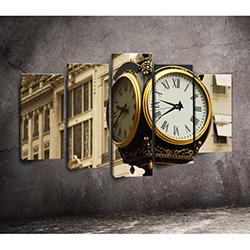 Canvastime TMG44 Canvas Tablo Saat - 5 Parçalı