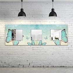 Modacanvas VT236 Dekoratif Yatay Ayna - 120x40 cm