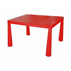 Modüler Mini Çocuk Masası - Kırmızı