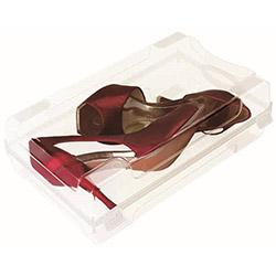Modelsa Klasik Seri Şeffaf Bayan 5'li Ayakkabı Kutusu