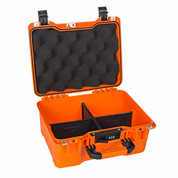 Mano MTC 230PL-T Yumurta Sünger + Plastik Bölmeli Tough Case Pro Takım Çantası - Turuncu