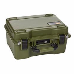 Mano MTC 230PL-Y Yumurta Sünger + Plastik Bölmeli Tough Case Pro Takım Çantası - Yeşil