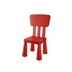 Modüler Mini Sandalye - Kırmızı