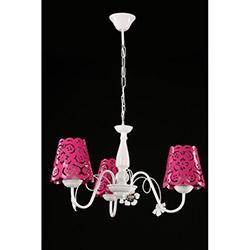 Safir Light Flamingo 3'lü Avize - Pembe