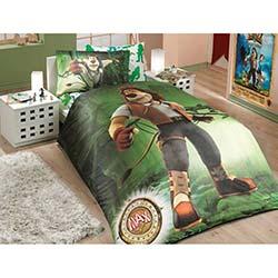 Hobby Tek Kişilik Nevresim Takımı Max Yeşil