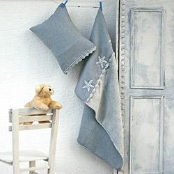 İkikız Wellsoft Yıldız Bebek Battaniye Takımı - Gri