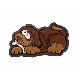 Giz (40x68 cm) İtalyan Sempatik Köpek Şekilli Paspas