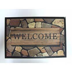 Giz Print Mat Welcome Paspas - 40x60 cm