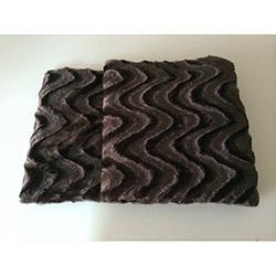 Brisa Dalgalı Koltuk Şalı 127x152 cm- Kahverengi