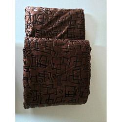Canary Kahverengi Çok Amaçlı Örtü - 130x170 cm