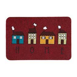 Giz Home Megan Evler Paspas (Kırmızı) - 40x60 cm