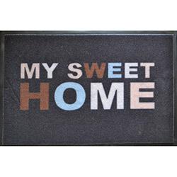Giz Home Print Mat My Sweet Home Kapı Önü Paspası - 40x60 cm