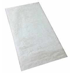 Marka Ev Dekoratif Tavşan Tüyü Halı (Beyaz) - 140x200 cm