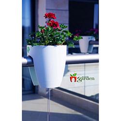 Mini Garden Küçük Saksı - Beyaz