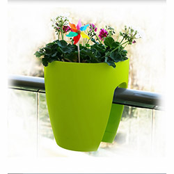 Mini Garden Küçük Saksı - Yeşil