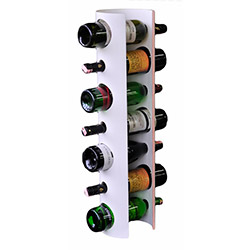 Nar Modern 7'li Şaraplık - Beyaz