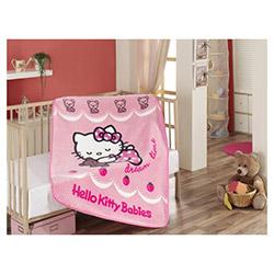 Hello Kitty Ribbon Bebek Battaniyesi