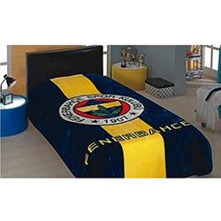 Merinos Lisanslı İpek Soft Fenerbahçe Logo Tek Kişilik Battaniye