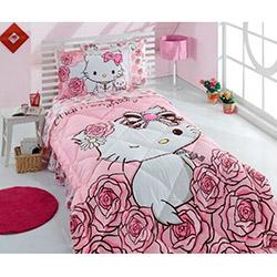 Hello Kitty Lisanslı Rose Charmy Tek Kişilik Uyku Seti