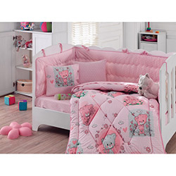 Cotton Box Mini Bebek Uyku Seti - Pembe