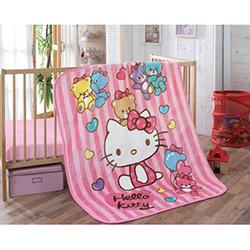 Hello Kitty Bear Bebek Battaniyesi