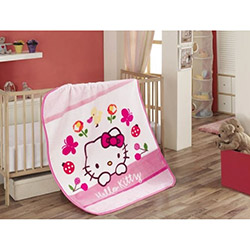 Hello Kitty Fancy Bebek Battaniyesi