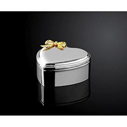 Lucena Gümüş Kalpli Kutu - Büyük (113800056)