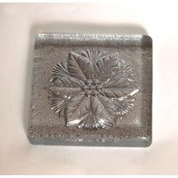 Çiçek Gümüş Simli Banyo Gider Süsü