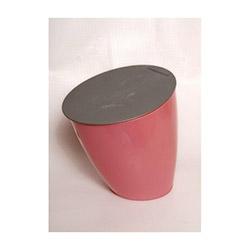 Atadan Kapaklı Çöp Kovası - Pembe