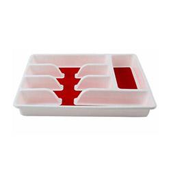 Gondol Clover Lüx Kaşıklık - Kırmızı / Beyaz