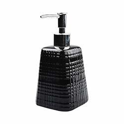 Evino 022 Seramik Sıvı Sabunluk - Siyah