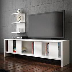 House Line Carmen Tv Ünitesi - Beyaz