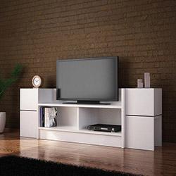 House Line Leon Zigon Sehpalı Tv Ünitesi - Beyaz