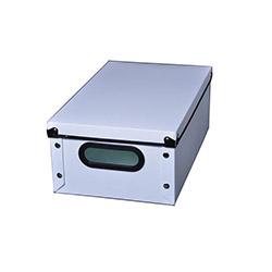 Plastik Beyaz Kapaklı Kutu - Ultra