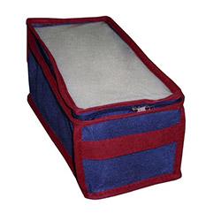 Kumaş Lacivert Hurç (14x29x14 cm)