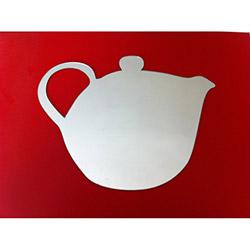 Bosphorus Çaydanlık Aynalı Sticker - 20x15,5 cm