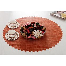 Dinner Design® Carrot Yuvarlak Masa Örtüsü - 60x60 cm
