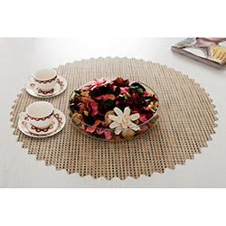 Dinner Design® Ginger Yuvarlak Masa Örtüsü - 60x60 cm