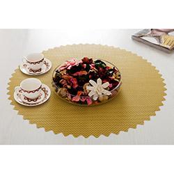 Dinner Design® Lemon Yuvarlak Masa Örtüsü - 60x60 cm