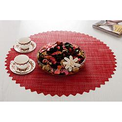 Dinner Design® Red Yuvarlak Masa Örtüsü - 60x60 cm