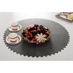 Dinner Design® Stone Yuvarlak Masa Örtüsü - 60x60 cm